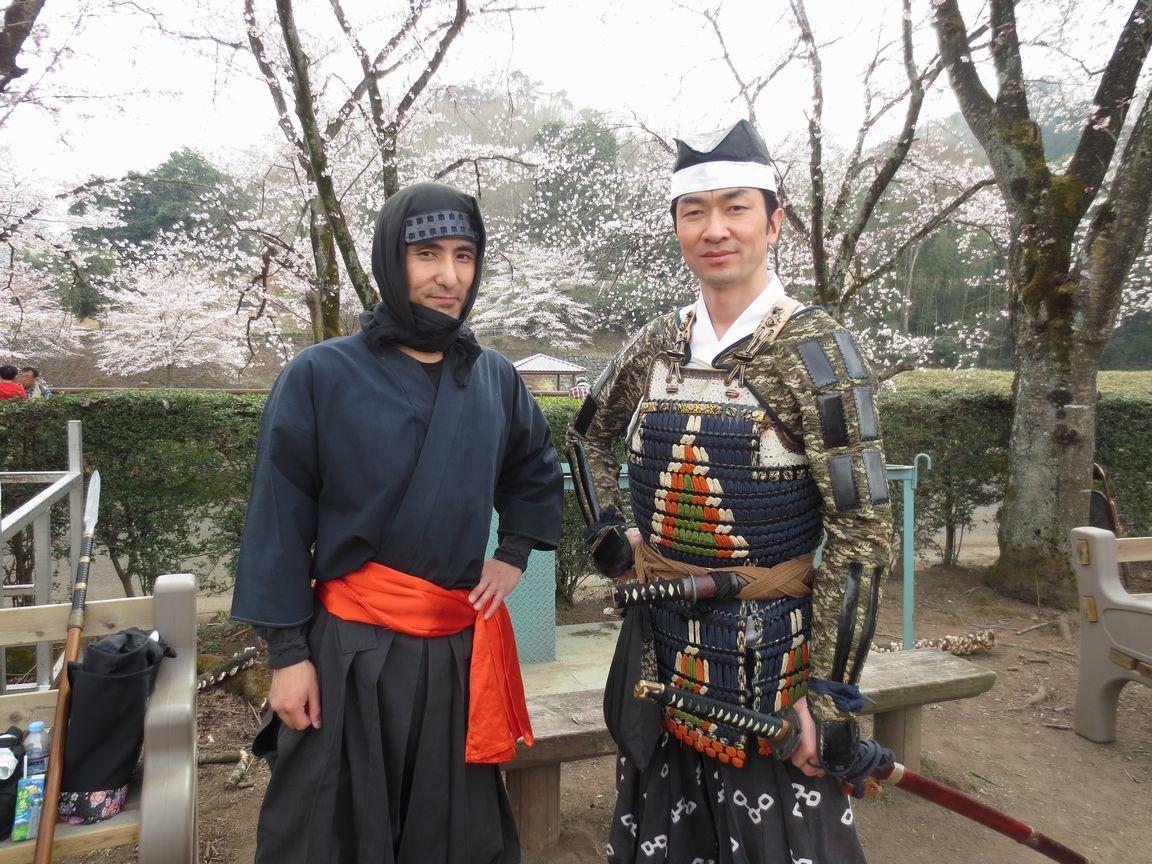 学芸村塾20160403甘楽市小幡さくら祭り